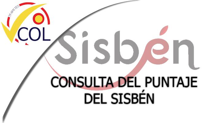 Consulta del Puntaje del Sisben