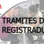 Trámites de Registraduría