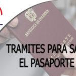 Tramites para Sacar el Pasaporte