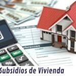 Subsidios de vivienda