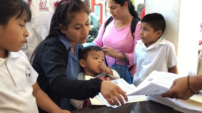 Apoyo para madres solteras de 1600 Mexico